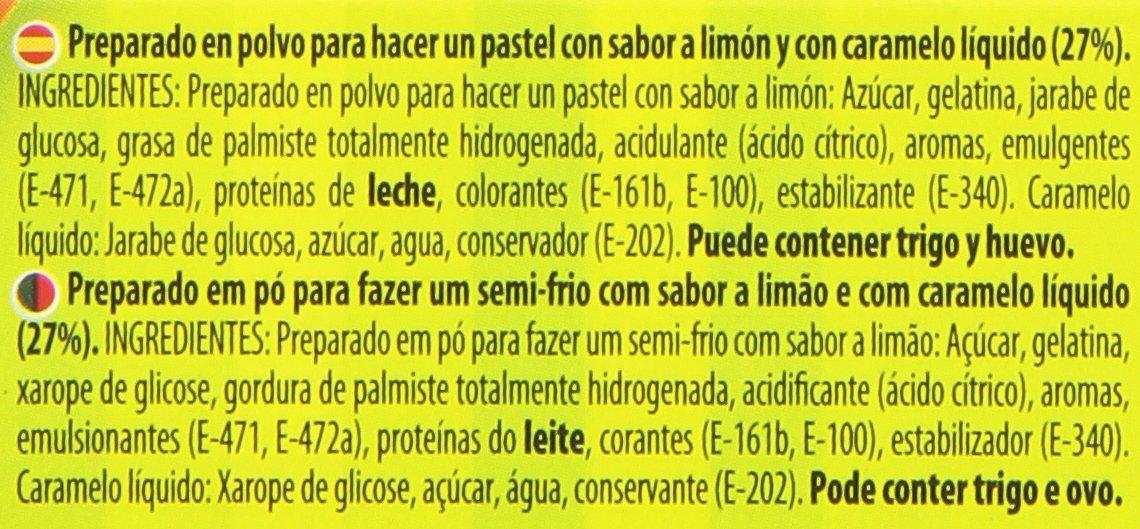 Royal - Preparado de Pastel Sabor Limón con Caramelo Liquido, 103 g