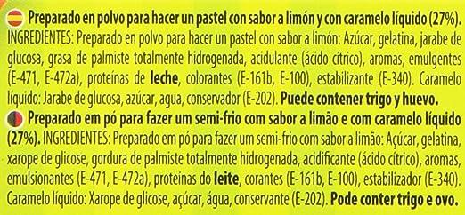Royal - Preparado de Pastel Sabor Limón con Caramelo Liquido, 103 g ...