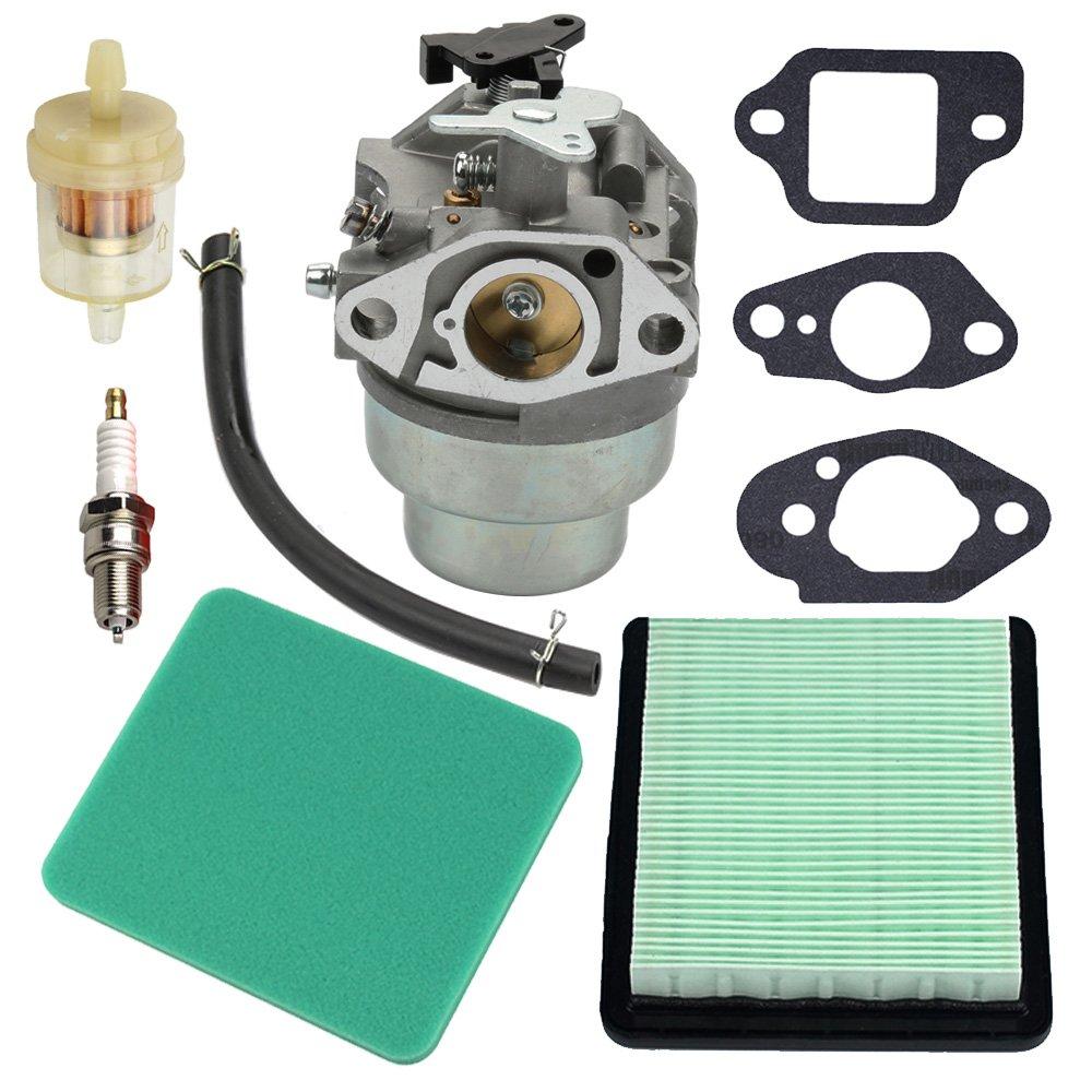 Panari GCV160 Carburetor + Tune Up Kit Air Filter for Honda GCV160A GCV160LA GCV160LE Engine HRB216 HRR216 HRS216 HRT216 HRZ216 Lawn Mower by Panari