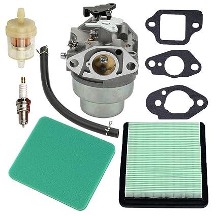 Panari GCV160 Carburetor Tune Up Kit Air Filter For Honda GCV160A GCV160LA GCV160LE Engine HRB216 HRR216 HRS216 HRT216 HRZ216 Lawn Mower
