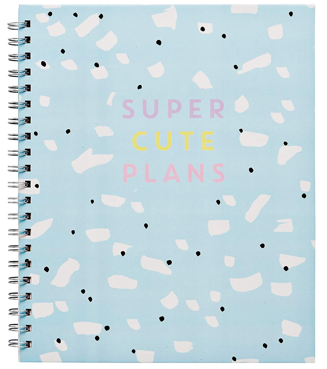 LaurDIY Kawaii Collection Monthly School Cute Sticker Sheet, 170 Pages, Agenda Planner