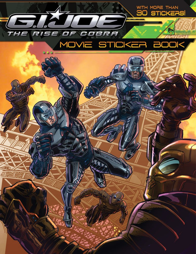 G.I. JOE Movie Sticker Book (G.I. Joe The Rise of Cobra) pdf epub