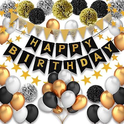 Pushingbest Decoraciones Cumpleaños Feliz Cumpleaños