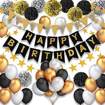 Pushingbest Decoraciones Cumpleaños, Feliz cumpleaños ...