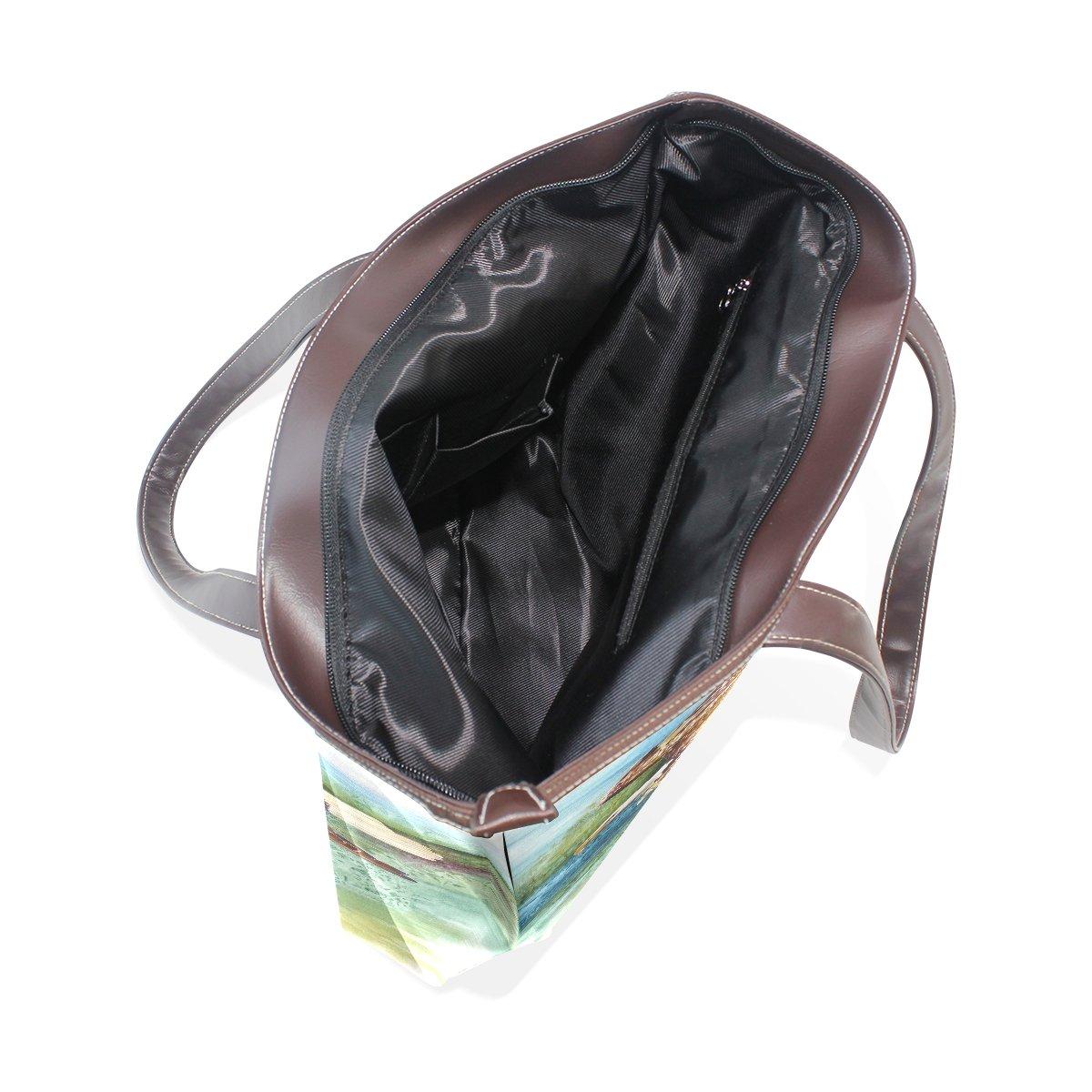Mr.Weng Household Eagle Lady Handbag Tote Bag Zipper Shoulder Bag