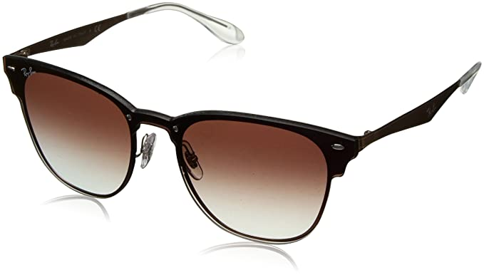 Amazon.com  Ray-Ban - RB3576N (Blaze Clubmaster) - Brushed Copper ... 29b457a77c40