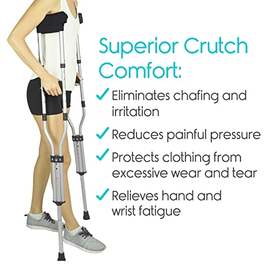 Amazon Vive Crutch Pads Padding For Walking Arm Crutches