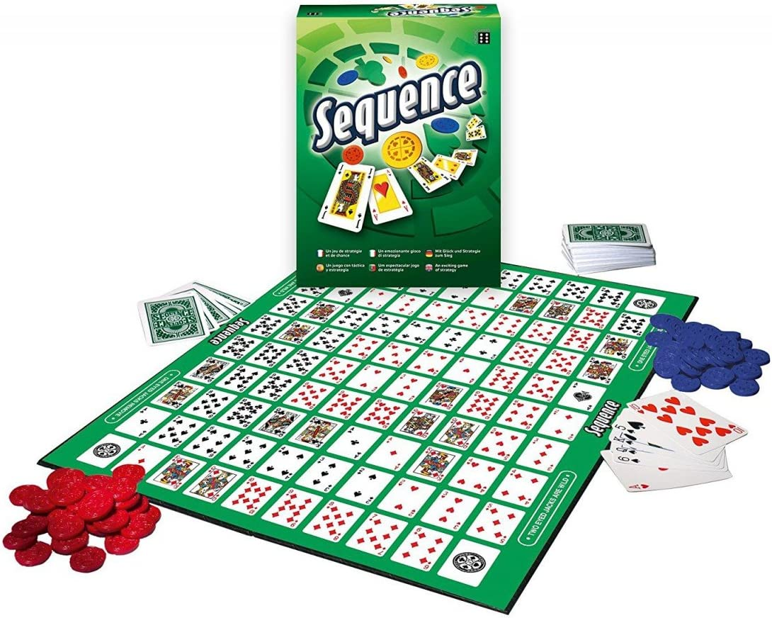 Winning Moves 0531 Sequence - Juego de Mesa: Amazon.es: Juguetes y ...
