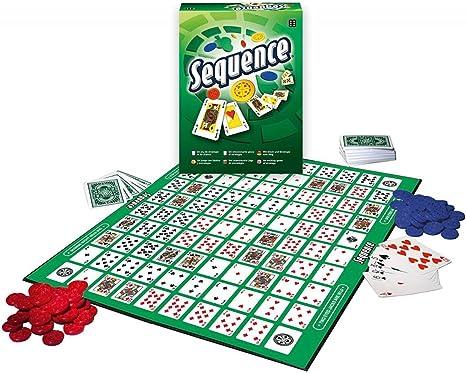 Winning Moves 0531 Sequence - Juego de Mesa: Amazon.es: Juguetes y juegos
