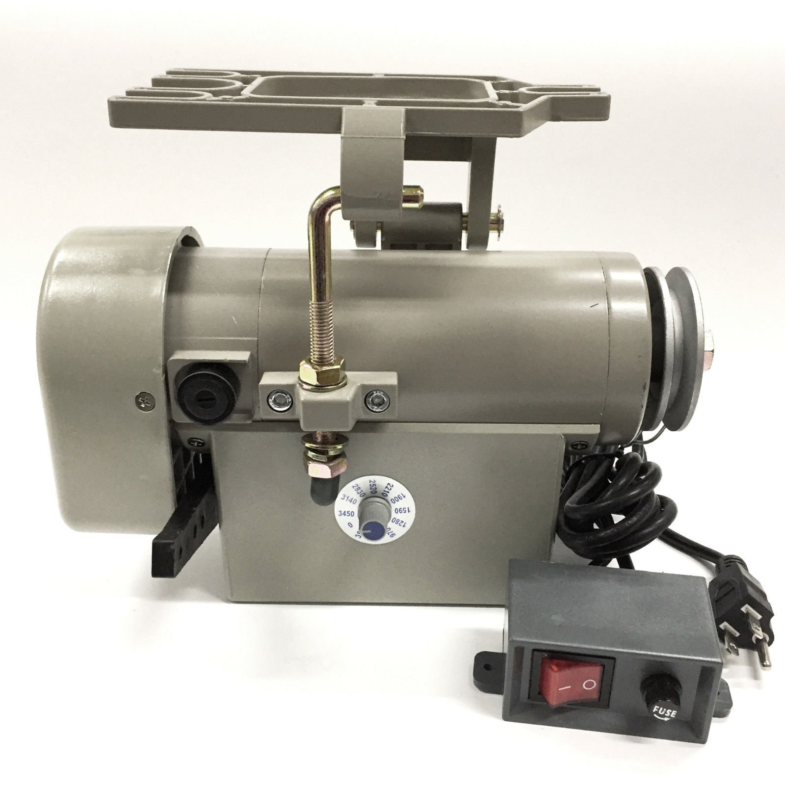 Eagle EL-550 Sewing Machine Servo Motor - 550 Watt, 110 Volt, Noiseless Motor by Eagle