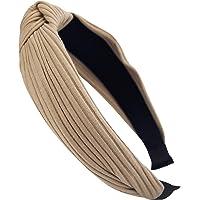 axy HR34 Stoff Haarreif mit Schleife-Vintage-Wunderschön Stirnband Haarschmuck