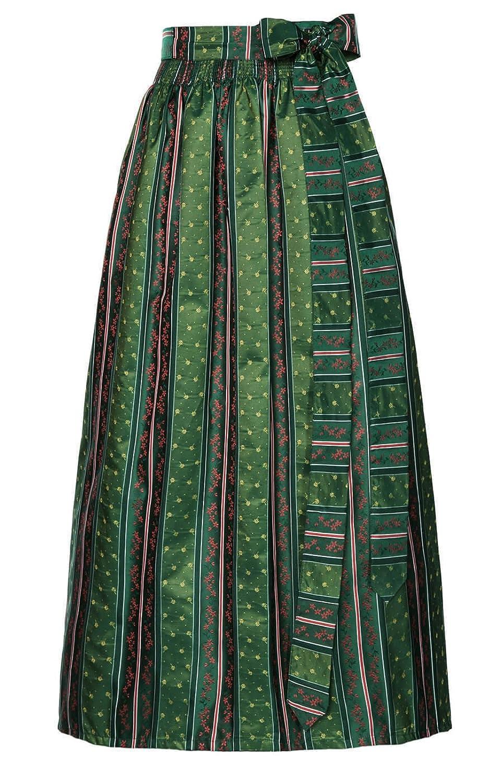 Trachten Dirndl Schürze - SC200 - attraktive Dirndl Schürze mit floralen Motiven, die perfekte Ergänzung für Trachten Kleider, eine Schürze von Stockerpoint im Landhausstil in der Farbe Tanne