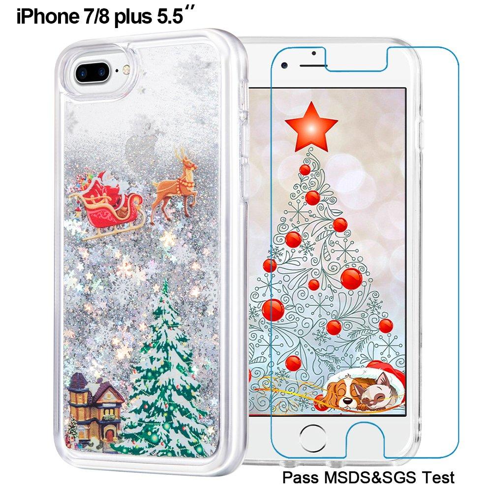 Amazon.com: Maxdara iPhone 8 Plus Christmas Case, iPhone 7 Plus case ...