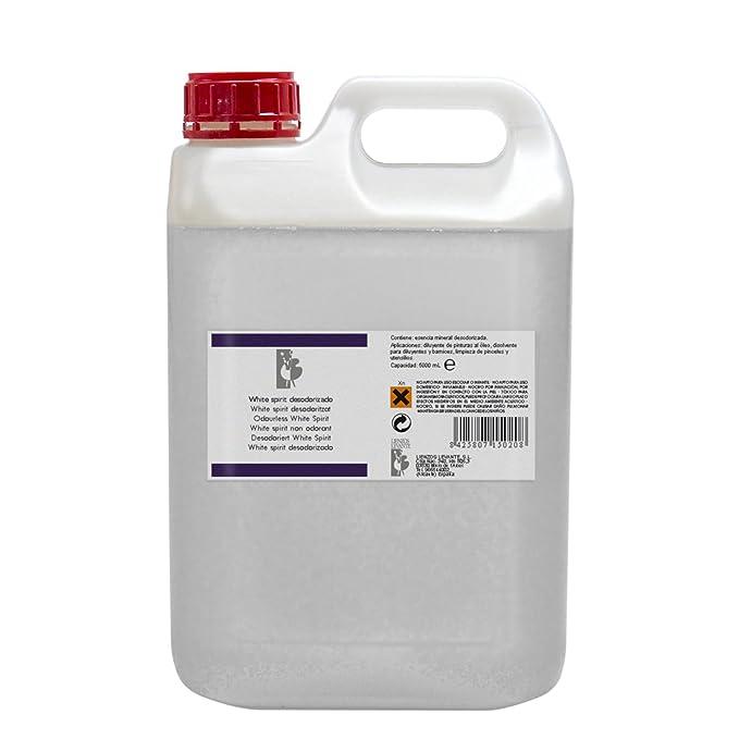 Lienzos Levante 0330241001 - Esencia Mineral White Spirit en Botella de 100 ML, Color Beige: Amazon.es: Hogar