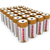 Tenergy 1.5V C Alkaline LR14 Battery, High Performance C Non-Rechargeable Batteries for Clocks, Remotes, Toys & Electronic De