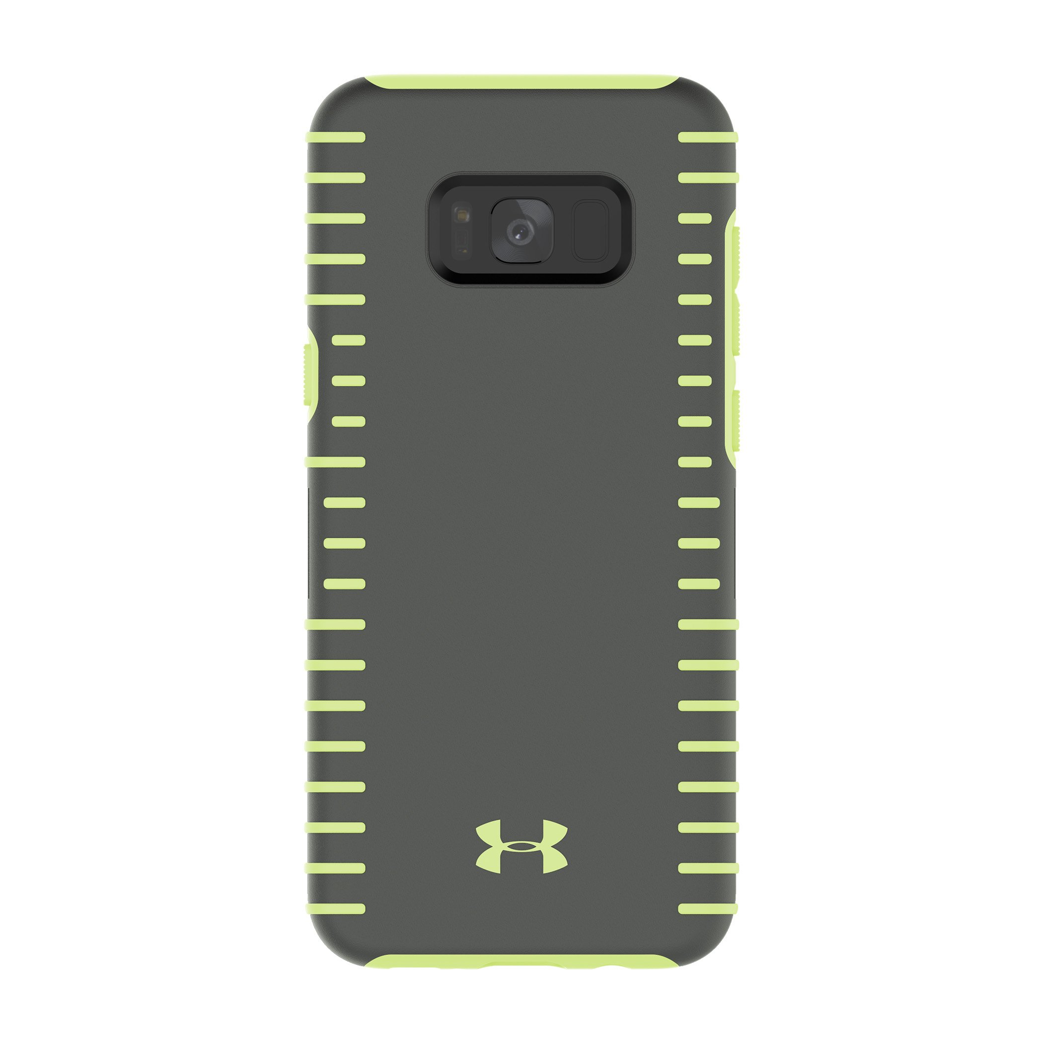 Under Armour UA Protect Grip Case for Samsung Galaxy S8+ - Graphite/Quirky Lime