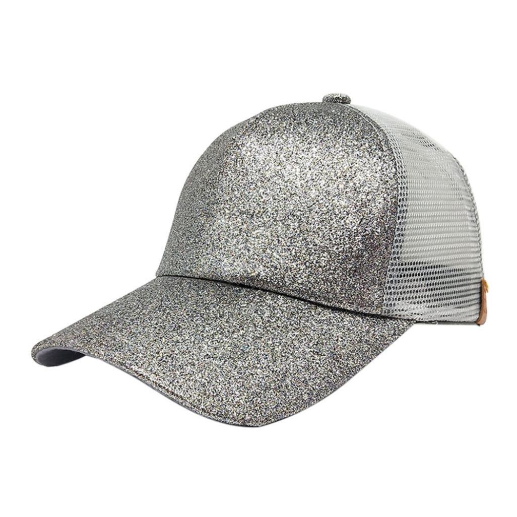 2edef03d910 Amazon.com  Women Ponytail Baseball Hat
