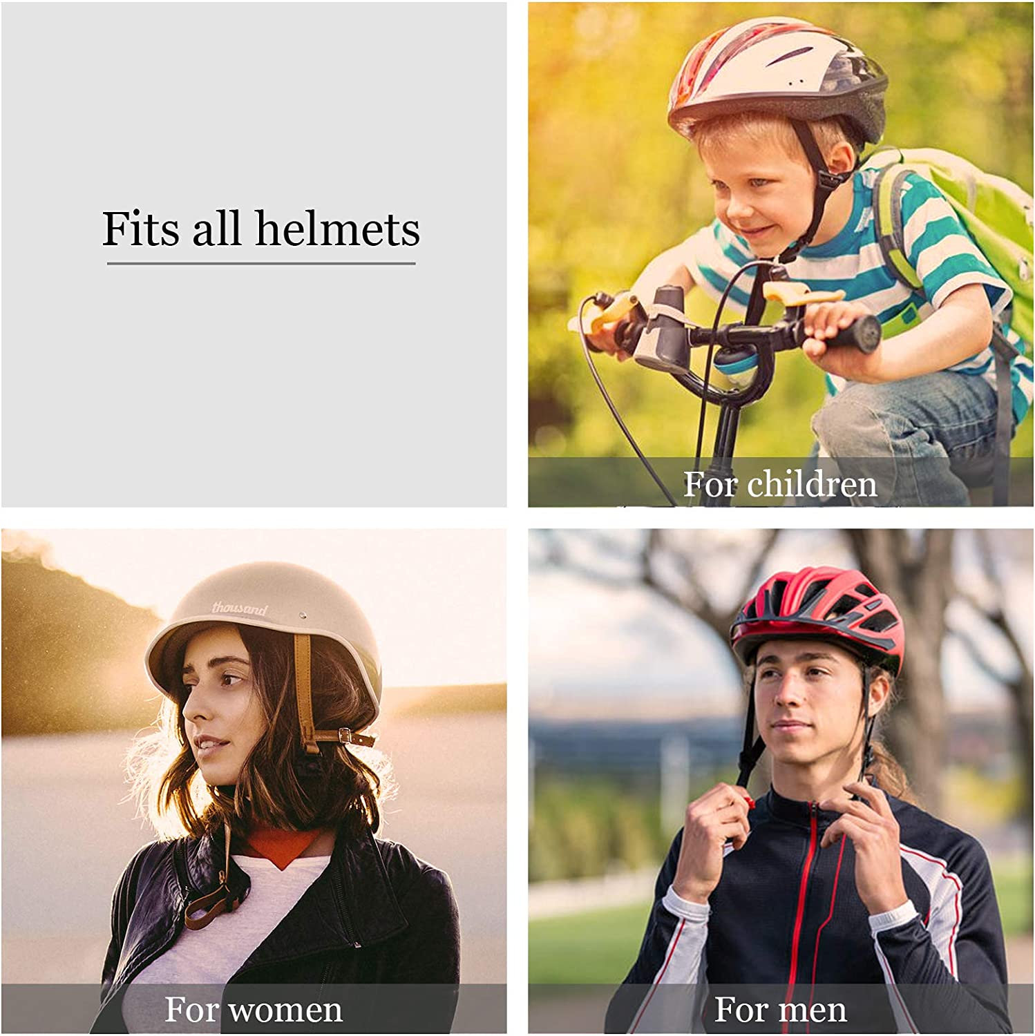Himetsuya Helmet Foam Pads Magic Stick 1 Set anti-collision Lining Sponge Protection with Viscose Universal Helmets Replacement Pads for Bicycle Electric Motorcycle Black Red