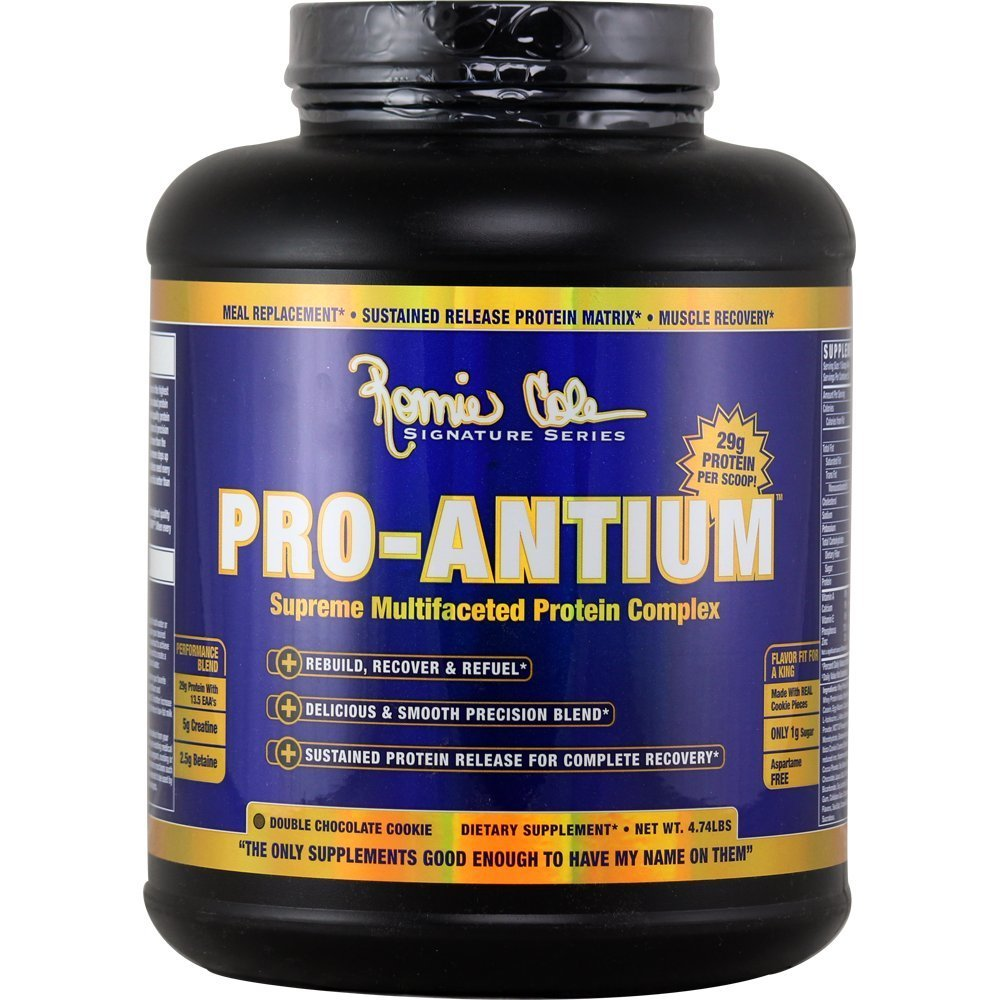 Ronnie Coleman Signature Series Pro Antium - 5 6lbs (Double Chocolate  Cookie)