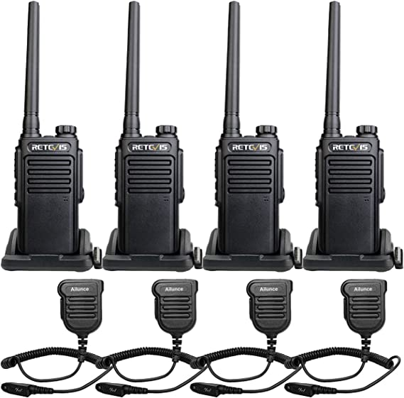 Long Range Walkie Talkie Radio 50 Mile 2 Two Way Hunt HIke Travel Submersible CB
