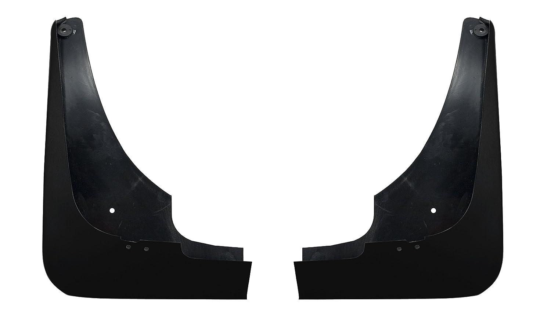 C5 Corvette 2pc Rear Splash Guard Mud Flaps Gloss Black 41 41U GBA WA8555