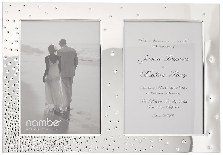Namb/é Dazzle Double Invitation Frame