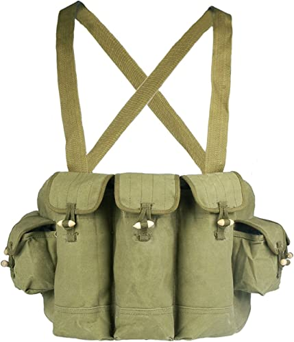 Loklode Chinese Military Surplus AK47 Chest Pouch Rig