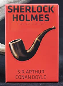 Sherlock Holmes Book Cover Refrigerator Magnet.