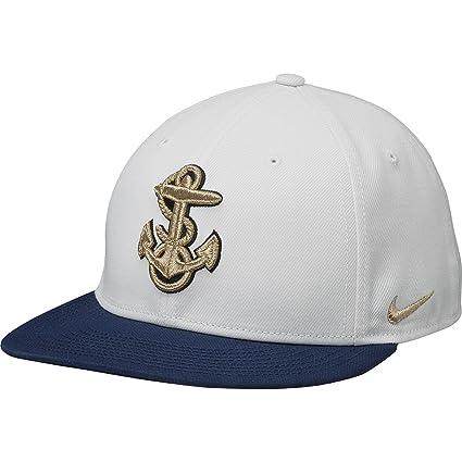 Amazon.com   NIKE Navy Midshipmen Rivalry True Snapback Hat One Size ... b32908524