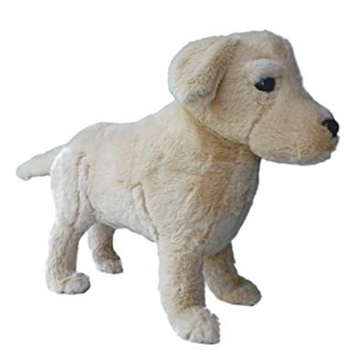 "Adore 16"" Standing Max The Farting Labrador Retriever Dog Stuffed Animal Plush Toy: Toys & Games"
