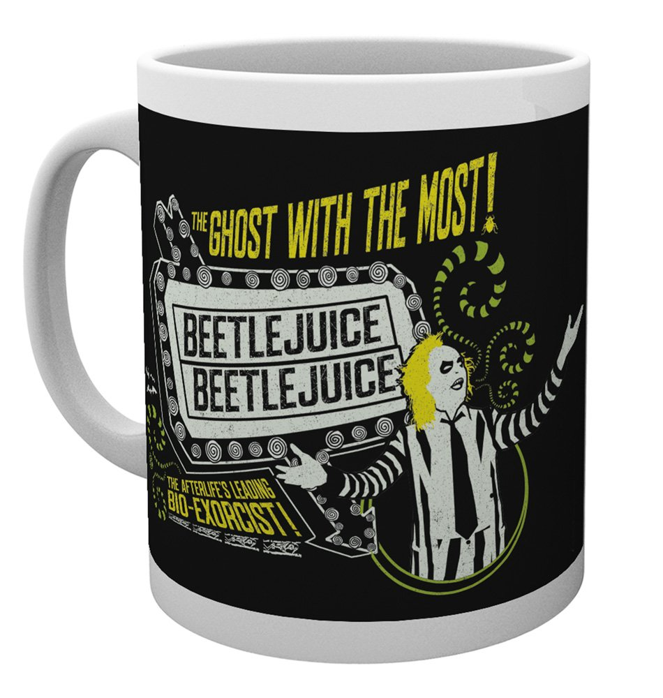 GB Eye Ltd Beetlejuice, Ghost with the most, tazza, ceramica, varie, 15x 10x 9cm MG2869