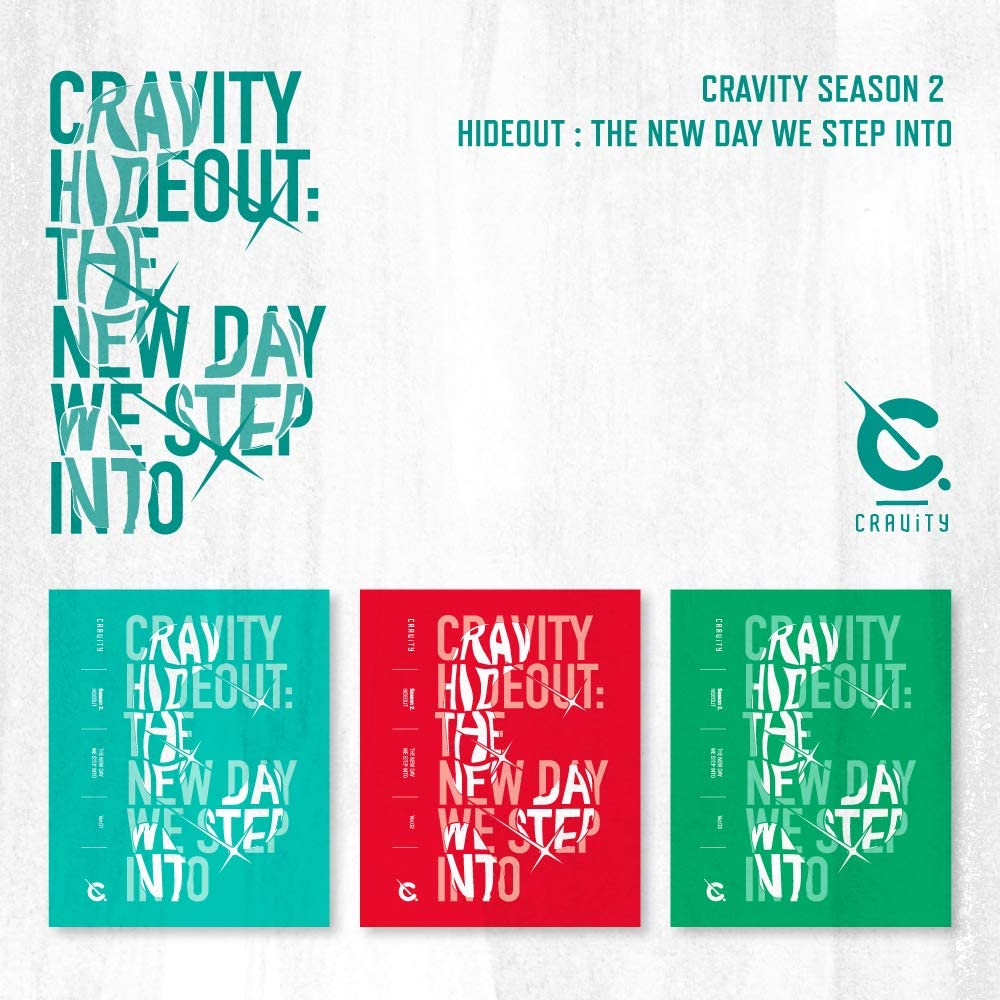 Starship Entertainment CRAVITY - CRAVITY SEASON2. [Hideout: The New Day WE Step INTO] Album+Pre-Order Benefit+Folded Poster+Extra Photocards Set (1+2+3 ver. Set)
