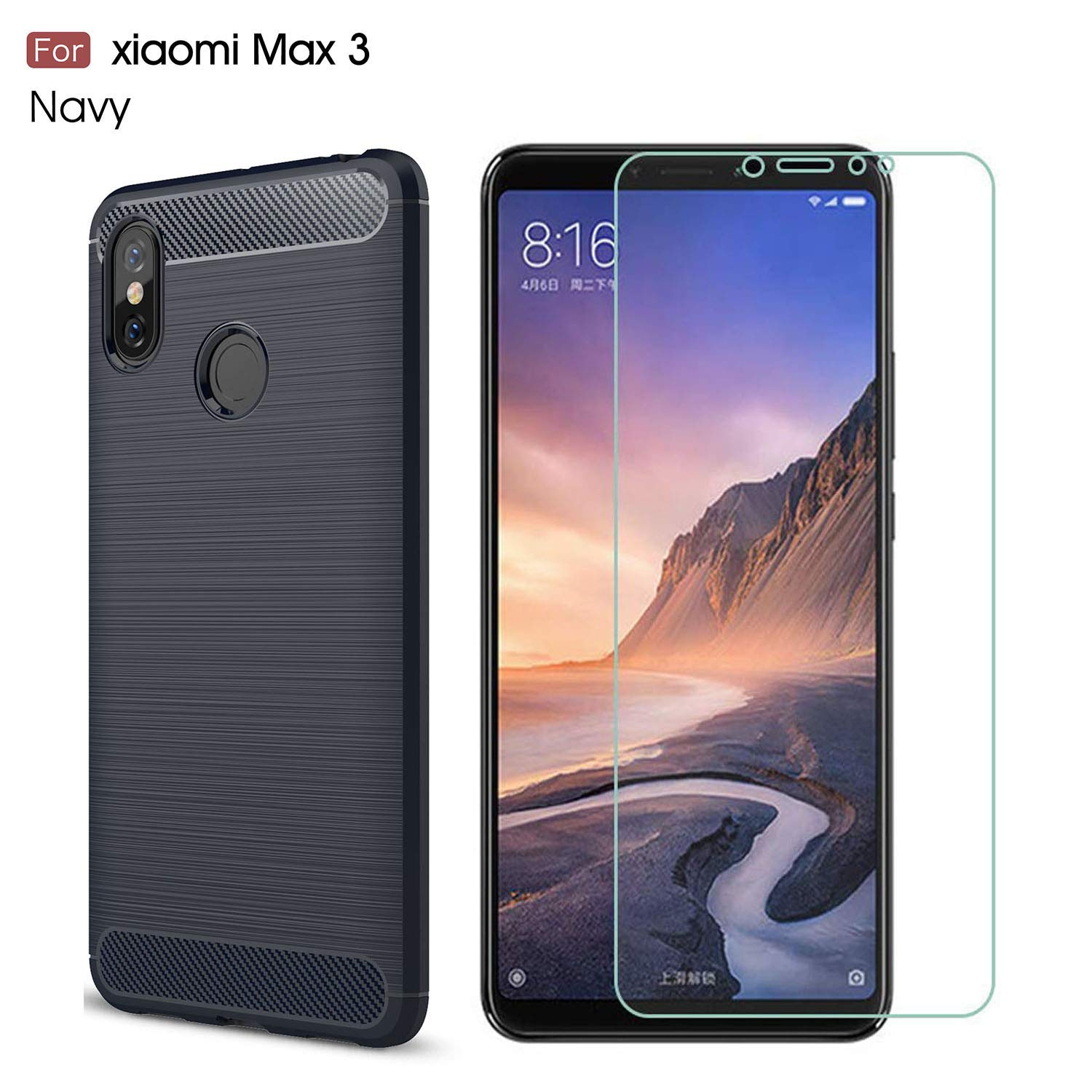 Green. Xiaomi Mi A1 case,MYLB Ultra Slim Lightweight Carbon Fiber Design Flexible Soft TPU Case Highstrength Shockproof Protective Back Cover to Protect The Mobile Phone for Xiaomi Mi A1