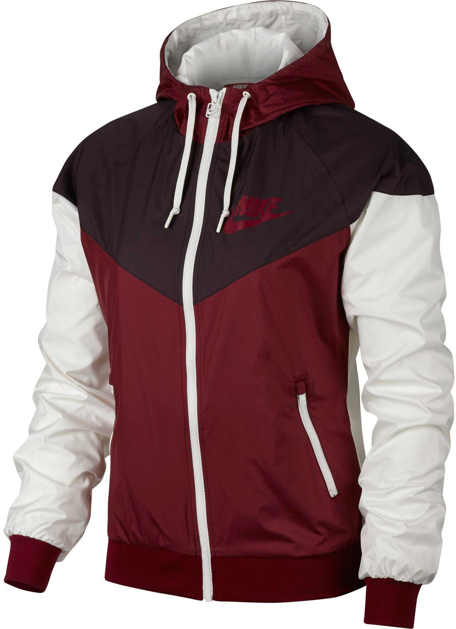 Nike Sportswear Windrunner Women's Jacket (Port Wine/Team Red, Medium)