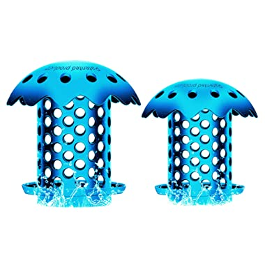 Hair Catcher, Tub Drain, Shower Hair Drain Catcher, Protector/Strainer/Snare/Filter/Collector (2 Packs)
