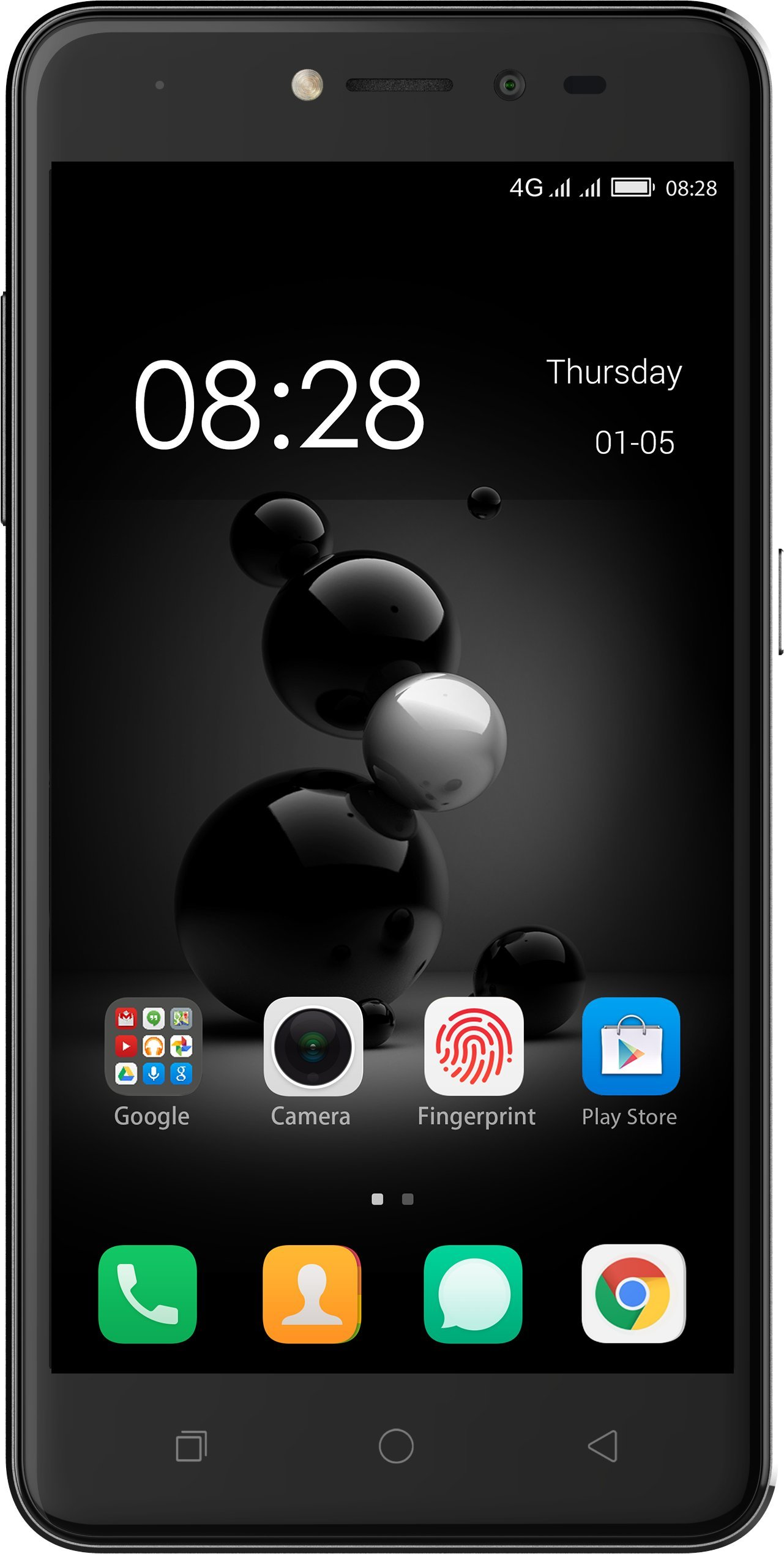 Coolpad Conjr – Unlocked Smartphone, Dual Sim, Multi-Finger Unlock, 4G LTE – Iron Grey by Coolpad