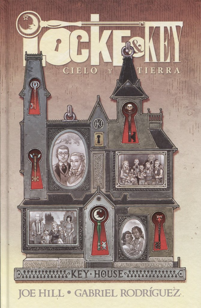 Locke And Key Cielo Y Tierra 9788491673156 Books