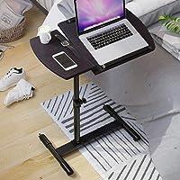 AMAZACER Adjustable Tilt Overbed Bedside Table With Wheels,rolling Laptop Desk Computer Stand Hospital Bed Table-b…