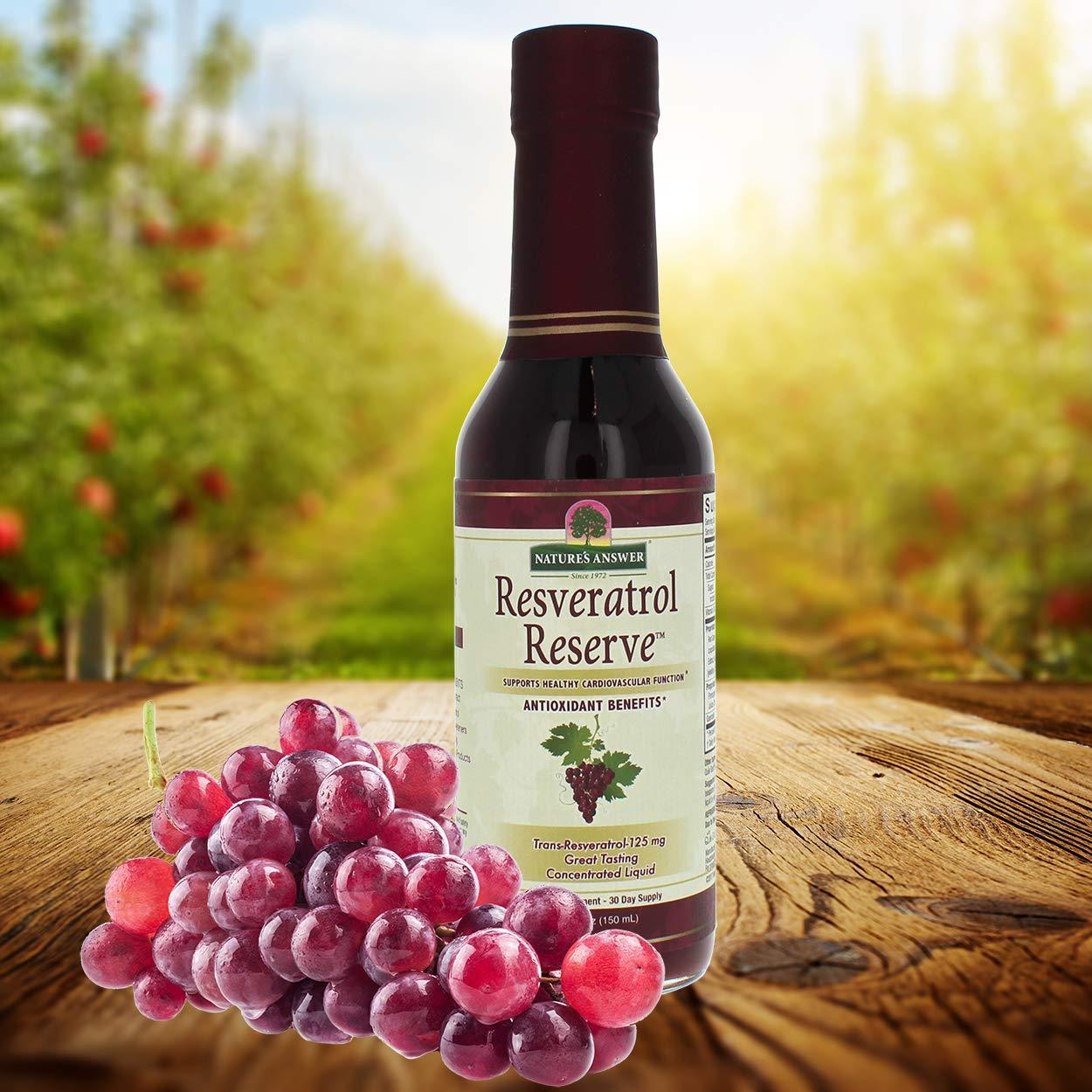 Nature's Answer Alcohol-Free Resveratrol Reserve