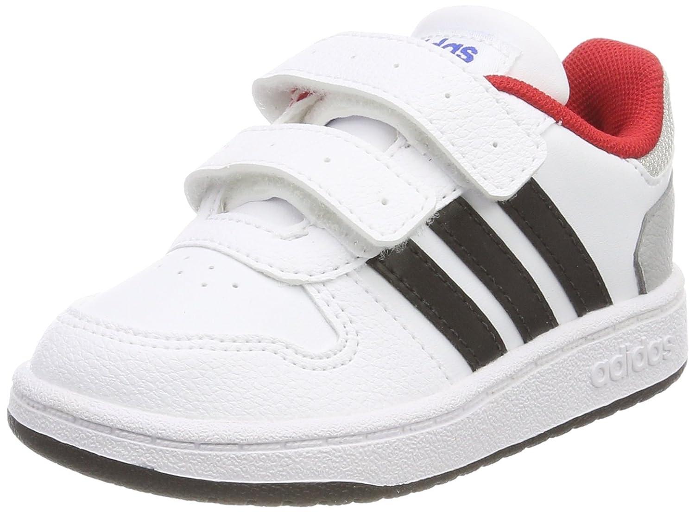 Adidas Hoops 2.0 CMF I, Chaussures de Fitness Mixte Enfant 25 EU DB1504