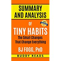 Summary and Analysis of Tiny Habits by BJ Fogg