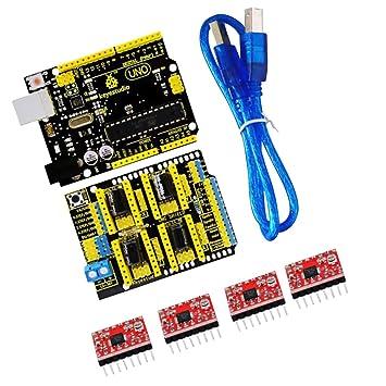 Tremendous Magideal Cnc Kit Cnc Shield V3 0 Uno R3 Amazon De Elektronik Wiring Cloud Hisonuggs Outletorg