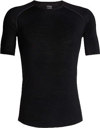 Icebreaker Merino Mens Zone Lightweight Base Layer Short Sleeve Crew Neck Shirt Merino Wool