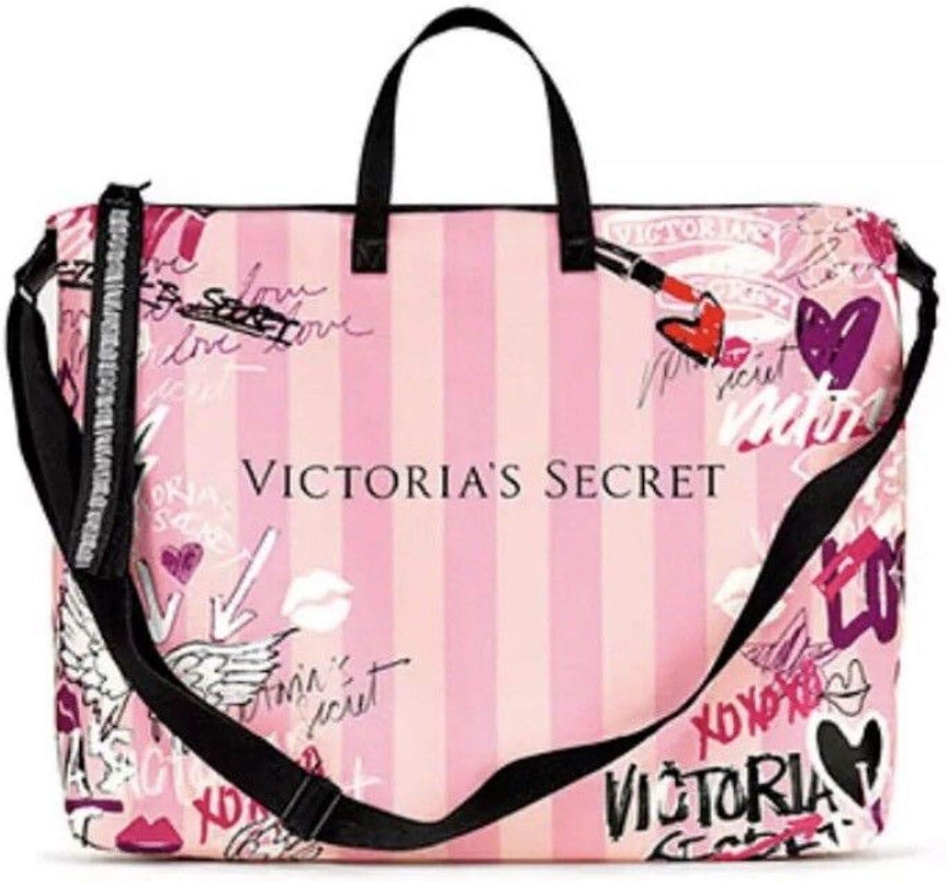 Secret Pink Duffle Bag Weekender Tote