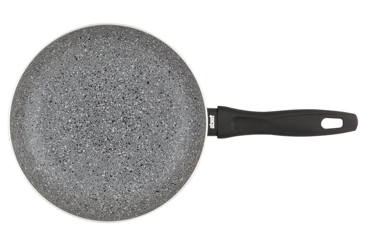 Abert Stone - Juego de 2 Sartenes Piedra 24/28cm de Aluminio Forjado con recubrimiento de granito ecologico de alta calidad.