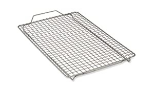 All-Clad J2579064 Pro-Release cooling and baking rack, 16.5 In x 11 In x 1 In, Grey