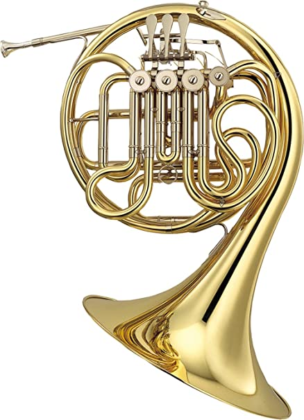 amazon com yamaha yhr567 double french horn set bell musical