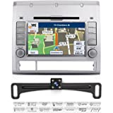 Aimtom 2005 06 07 08 09 10 11 12 Toyota Tacoma In-Dash GPS 7 Inch Touchscreen Bluetooth Navigation with Rear Camera Stereo DVD Radio Player AV Receiver USB Deck Infotainment System w/ Copyrighted Maps