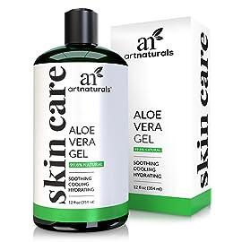 ArtNaturals Organic Aloe Vera Gel - for Face