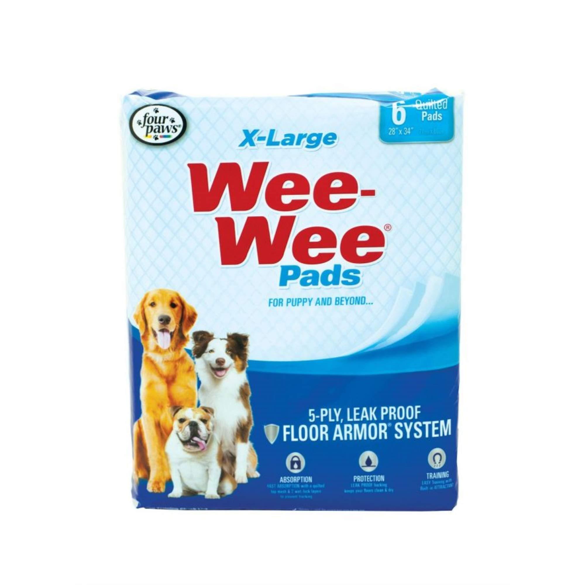 Wee Wee Pads - 75 Pack X-Large by Wee Wee Pads